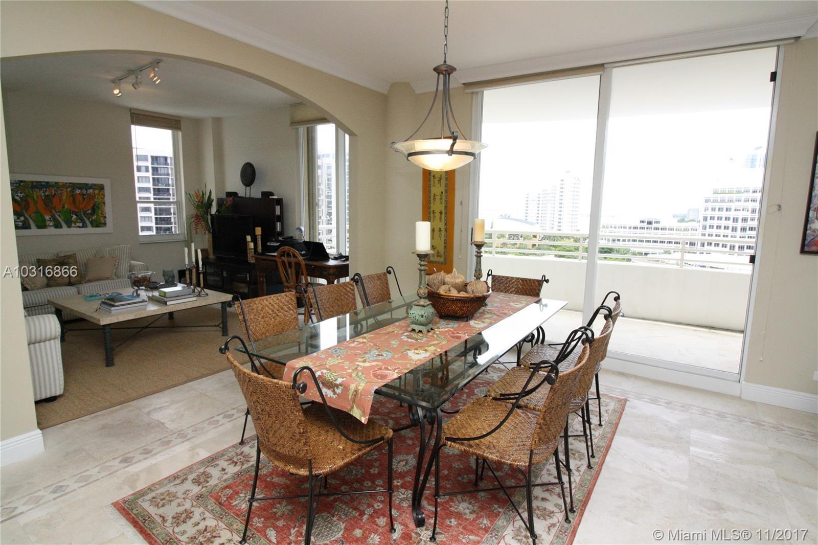 888 Brickell Key Dr # 1203, Miami , FL 33131