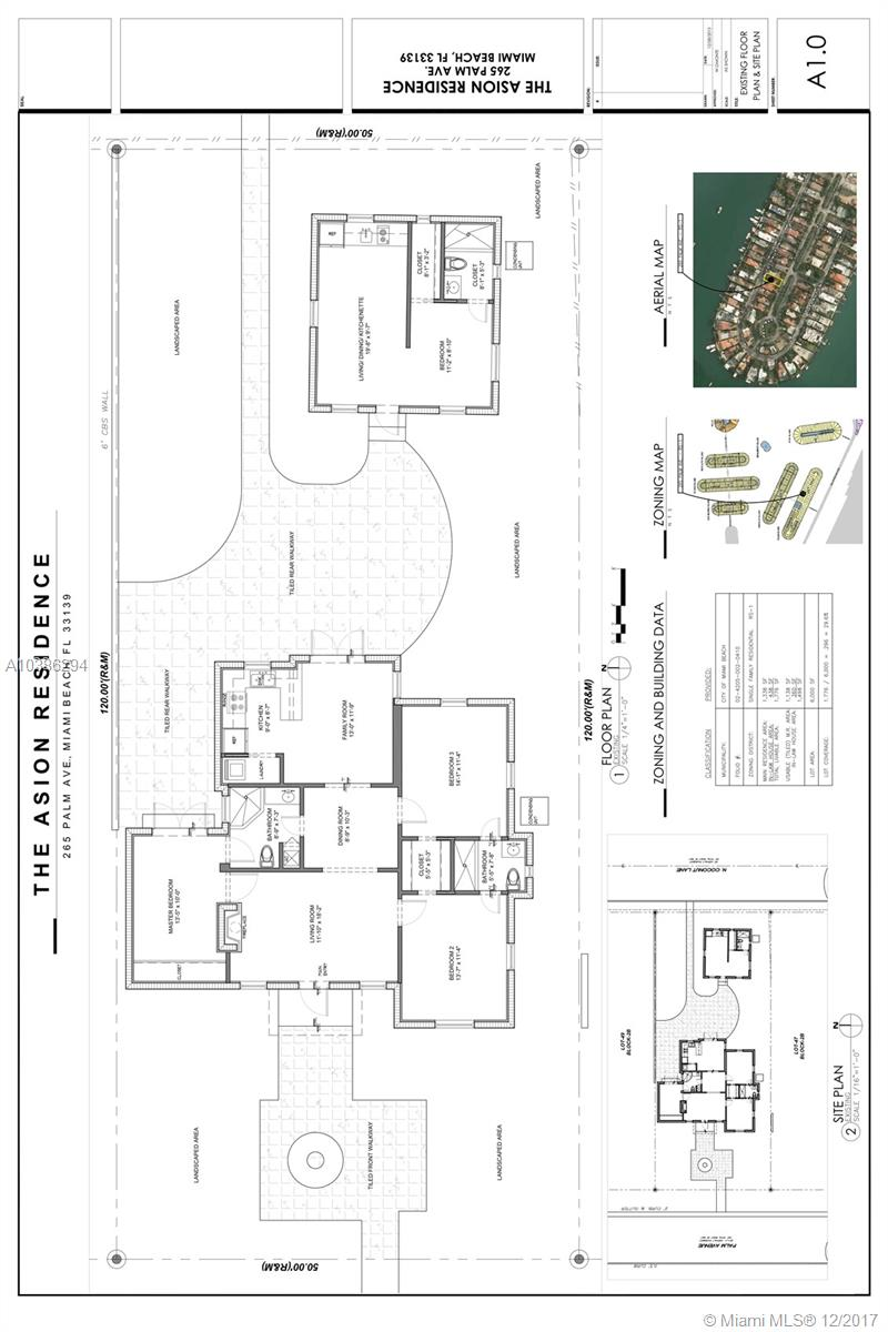For Rent Palm Ave Miami Beach FL MLS A - Miami beach zoning map