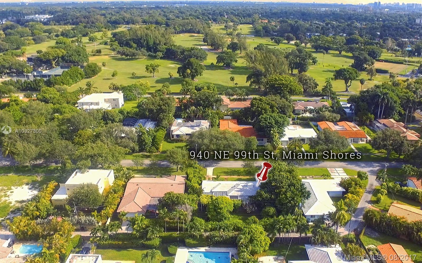 940 NE 99th St, Miami Shores , FL 33138