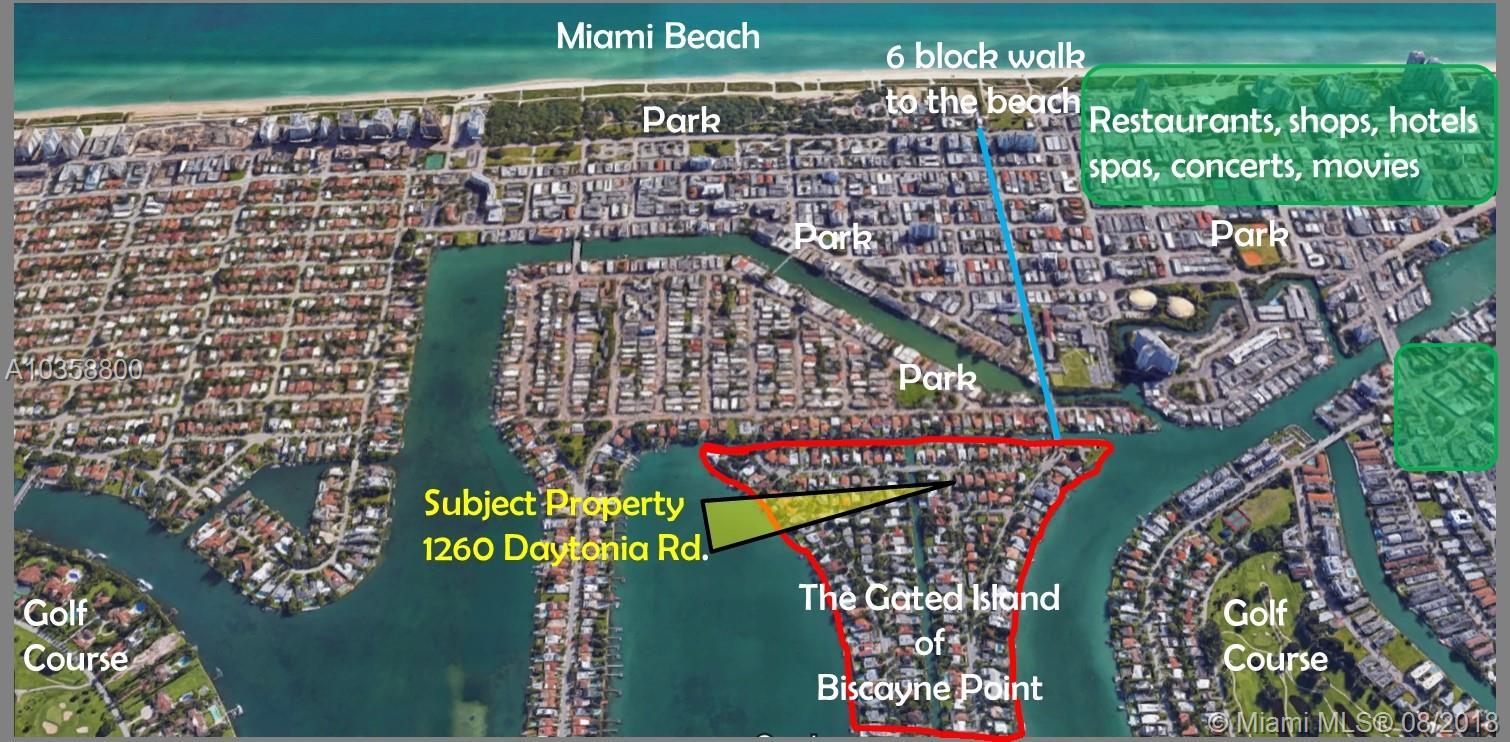 1260 Daytonia Rd, Miami Beach , FL 33141