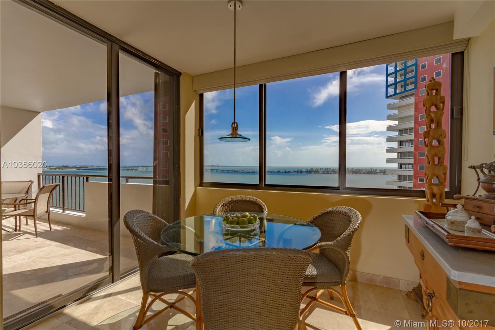 1581 Brickell Avenue #804, Miami FL, 33129