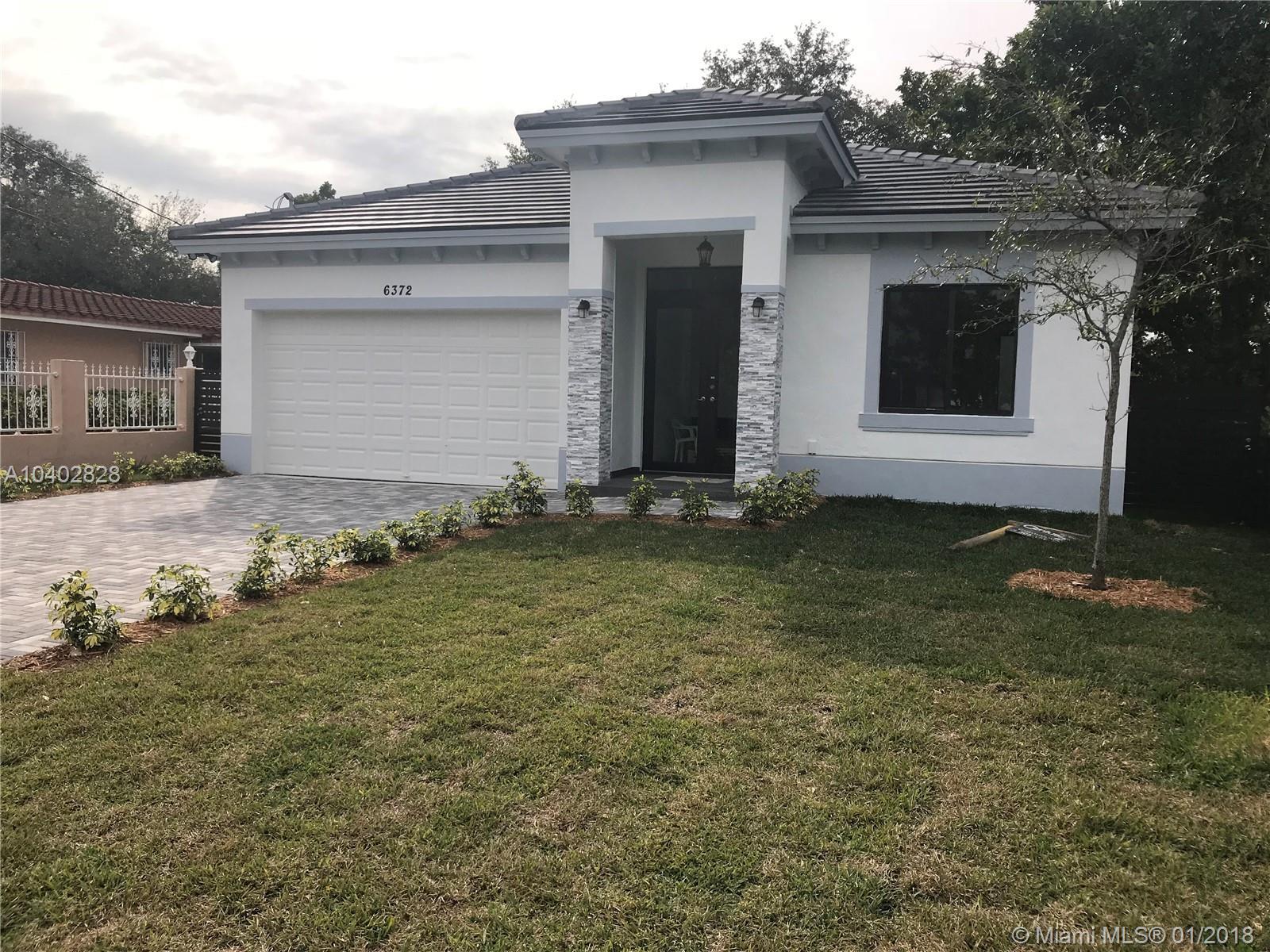 6372 SW 34th St, Miami , FL 33155