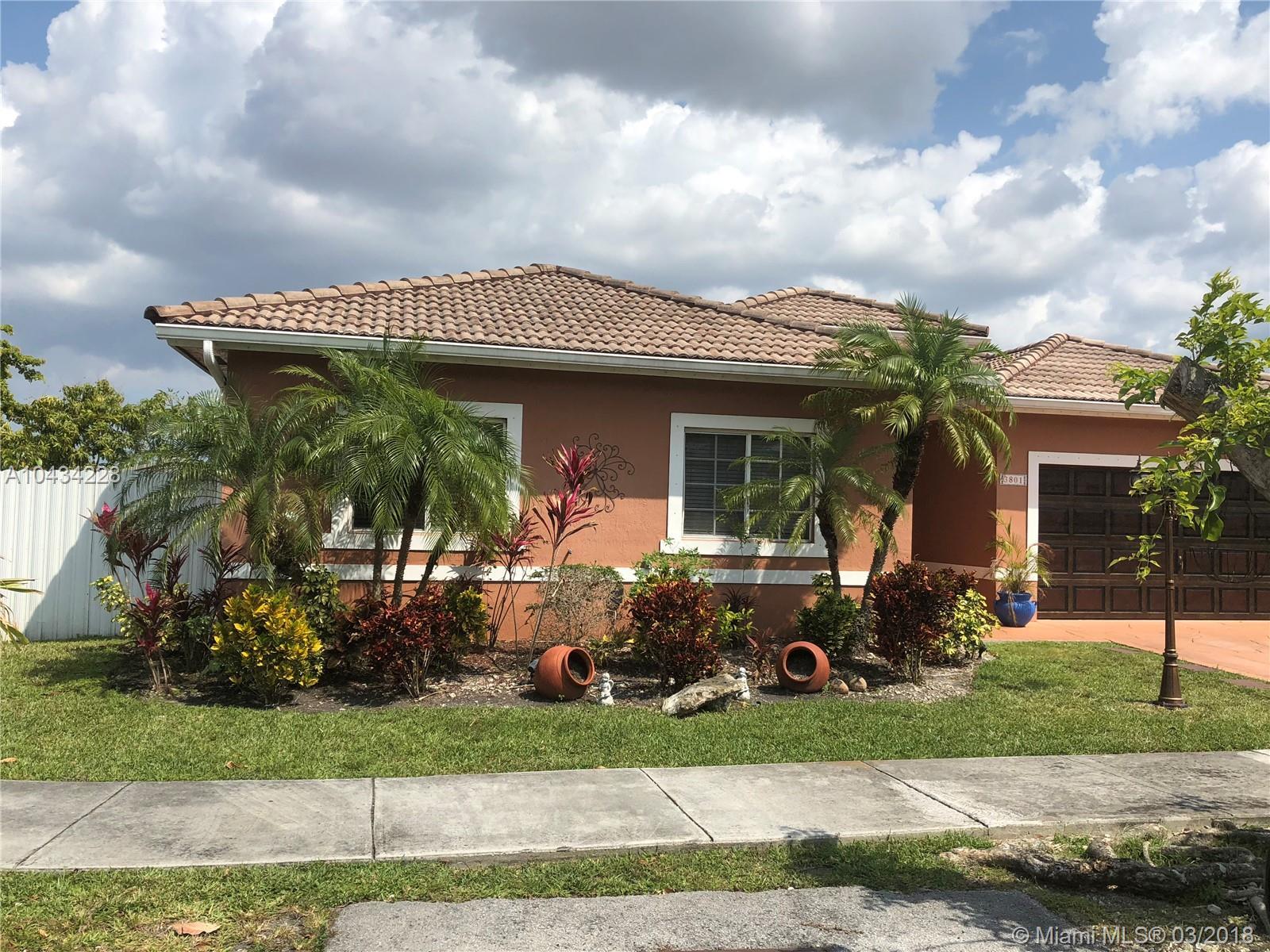 3801 Sw 148th Ct, Miami FL, 33185