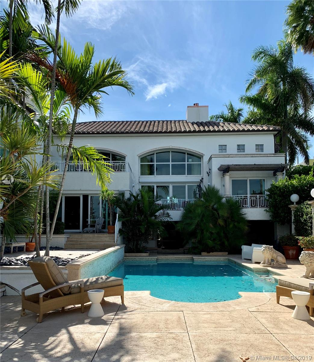 Rent House In Miami Beach: Palm Island Real Estate - Royal Realtors