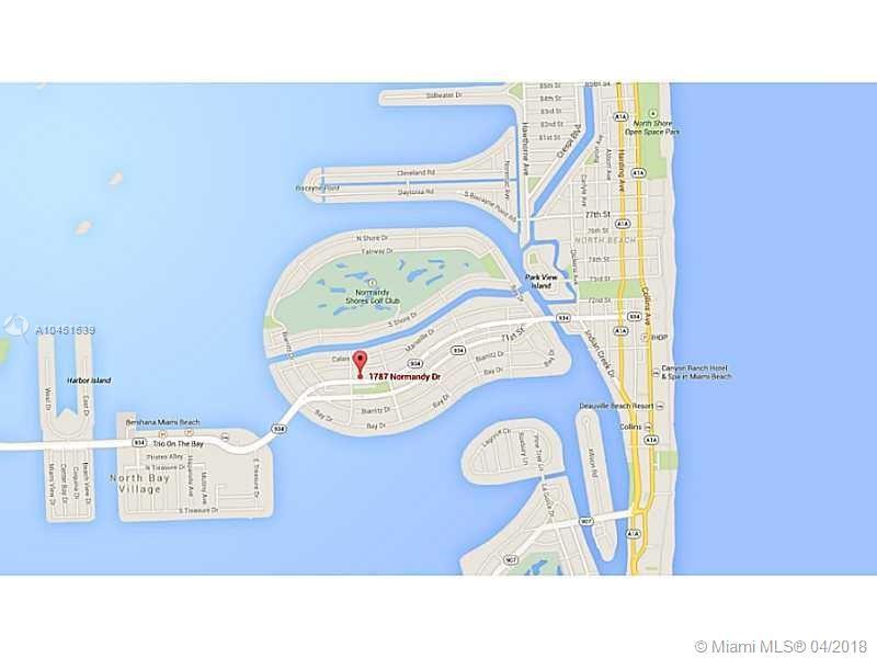 1787 Normandy Dr, Miami Beach FL, 33141