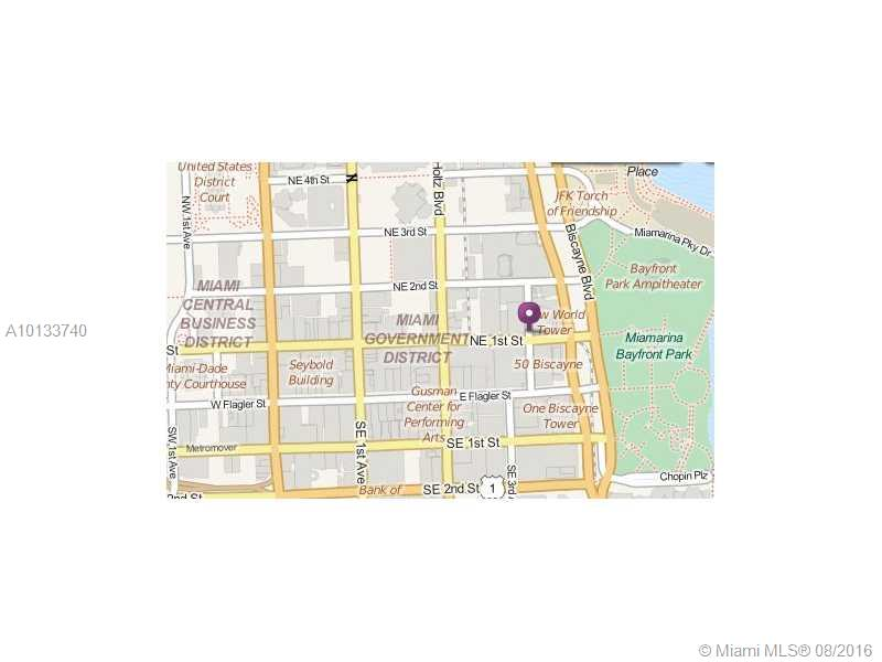 141 NE 3 AV #900, Miami, FL 33132