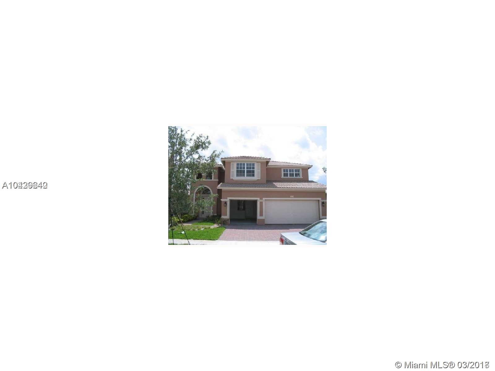 4041 W Whitewater Ave, Weston FL, 33332
