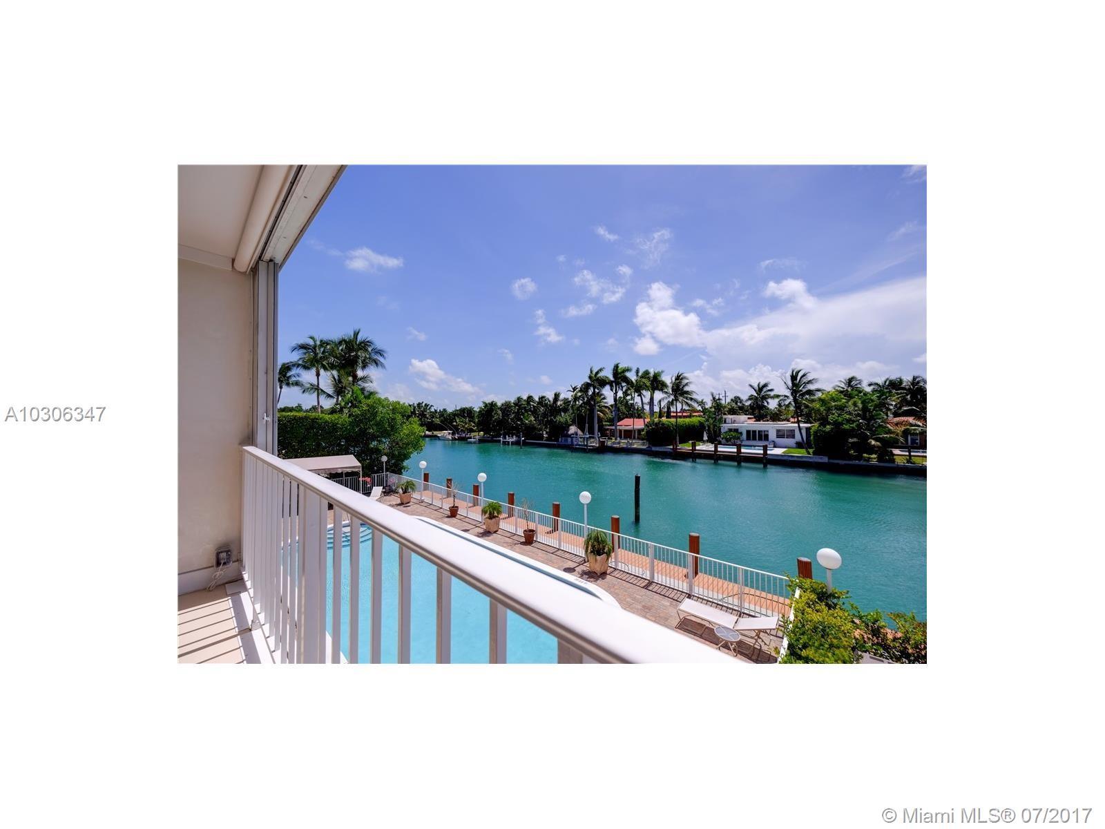 10180 W Bay Harbor Dr #2B, Bay Harbor Islands FL, 33154