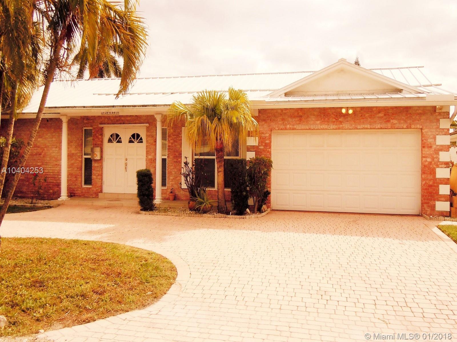 2830 Ne 60th St, Fort Lauderdale FL, 33308