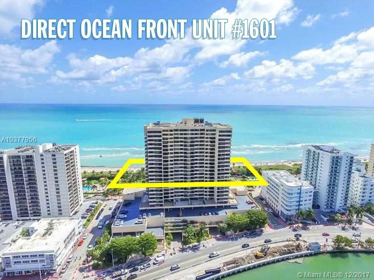 2555 Collins Ave #1601, Miami Beach FL, 33140