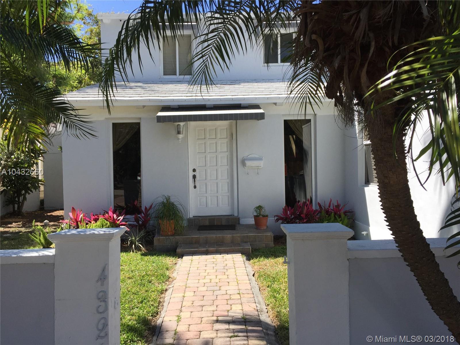 4326 Post Av, Miami Beach FL, 33140