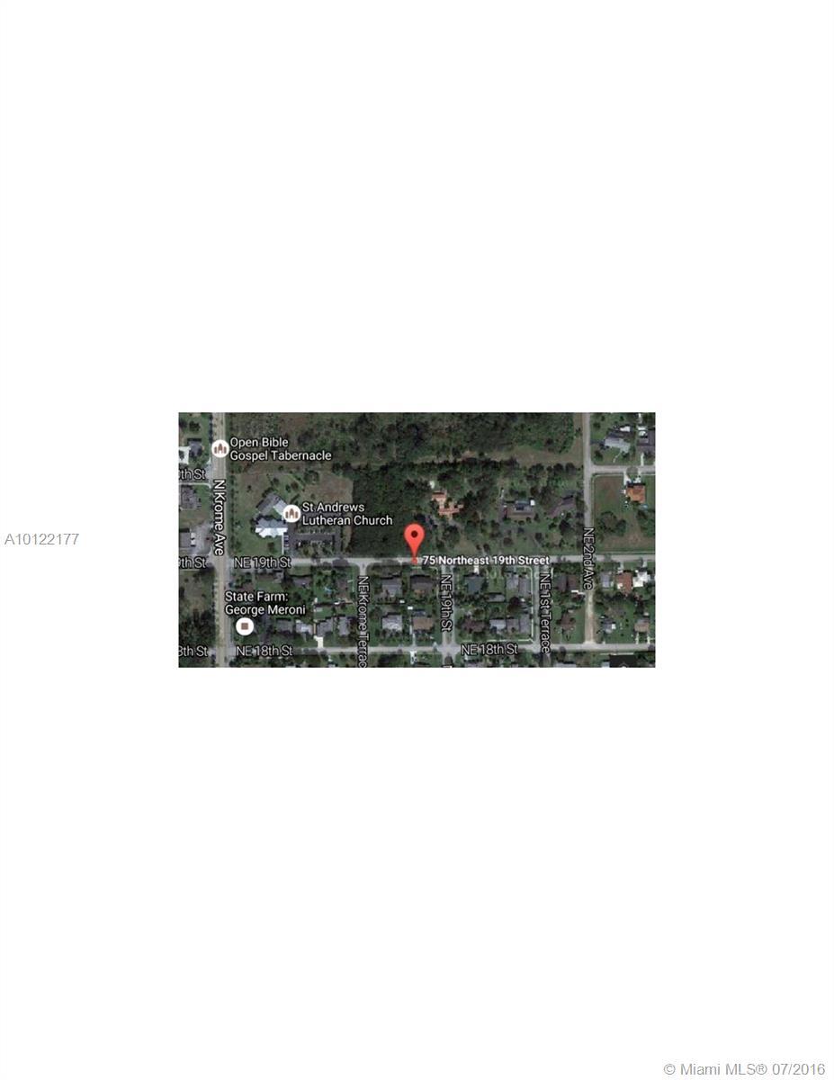 75 Ne 19th Street, Homestead FL, 33030