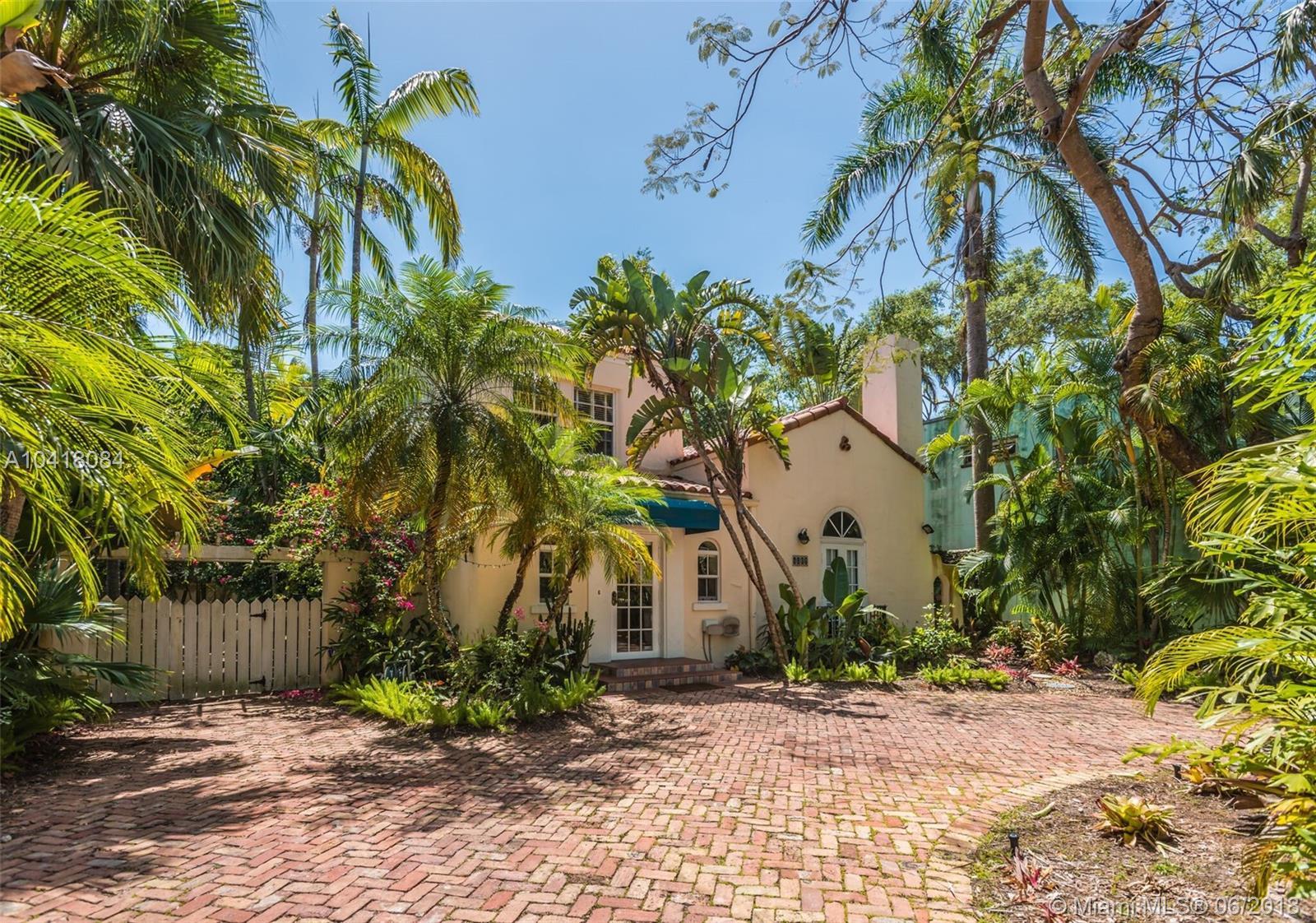 1782 Opechee Dr, Coconut Grove FL, 33133