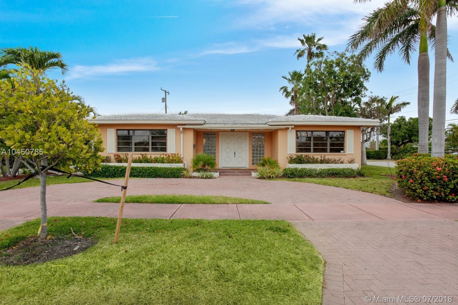1001 S Shore, Miami Beach FL, 33141