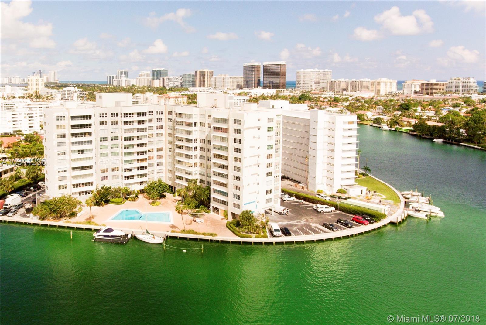 9100 W Bay Harbor Dr #6A, Bay Harbor Islands FL, 33154