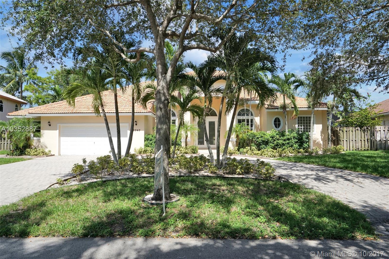 2040 SW 59th Ave, Plantation , FL 33317