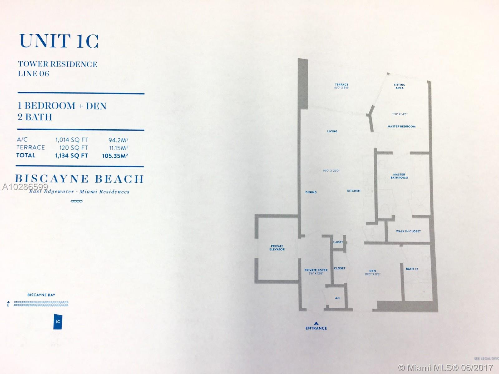 2900 NE 7th Avenue # 3206, Miami , FL 33137